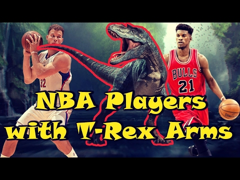5 NBA Players with T-REX ARMS!