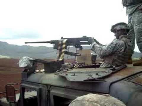 50 cal machine gun hawaii youtube