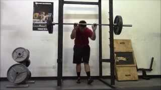 SuperSquats week 4 workout 1 6 9 15