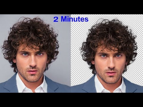 Cut Out Hair 2 MINUTES Photoshop Tutorial 2019 - Easy Tutorial
