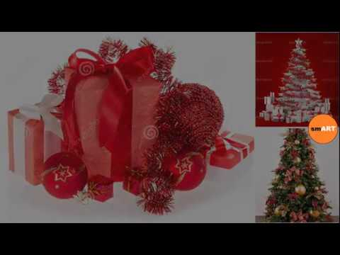 christmas tree ornaments sets red christmas tree decorations - Christmas Decoration Sets