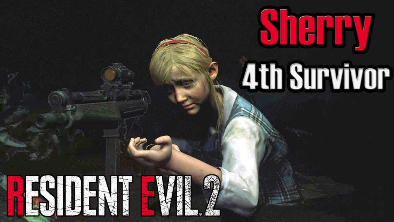 Resident Evil 2 Remake (PC Mod) - Sherry in 4th Survivor