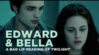 """Edward and Bella"" - A Bad Lip Reading of Twilight"