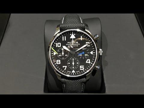 Fortis Pilot Classic Automatik Chronograph | Review | 904.21.41 LP01 | Olfert&Co