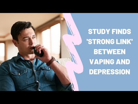 Vaping and Depression What is the Connection