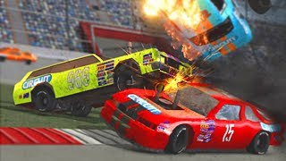 БИТВА МАШИНОК Demolition derby 2 Игровой мультик про тачки для детей HD