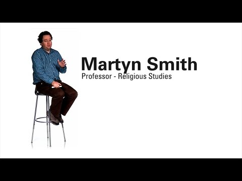 Faculty Profile - Martyn Smith (Professor of Religious Studies)