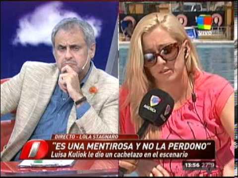"""""""Luisa Kuliok es una cobarde y mentirosa"""""""