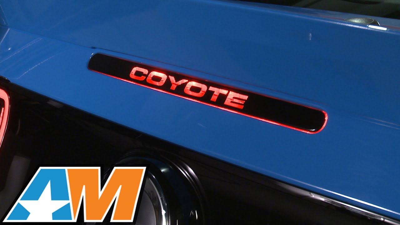 20112014 Mustang Coyote Third Brake Light Decal Review