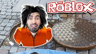 ROBLOX Jailbreak... NEW SEWER ESCAPE!