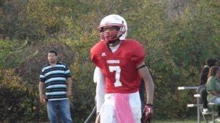 Jahz Watts 2012 (8th Grade) Football Highlights