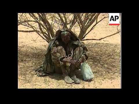 ERITREA: ETHIOPIA WAR SCENES AT TESSENEY