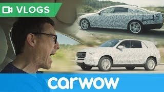 New Mercedes CLS and GLE 2018 – I caught prototypes testing! | Mat Vlogs