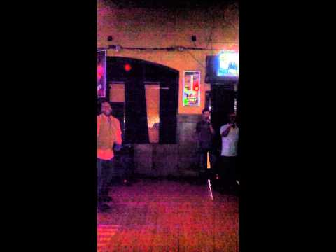 Dugans old national karaoke w sexy Vette