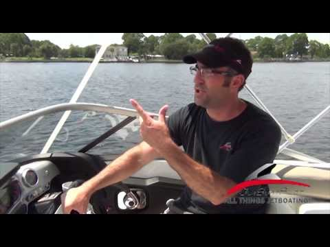 Seadoo Jet Boat No Wake Zones & Channel Markers