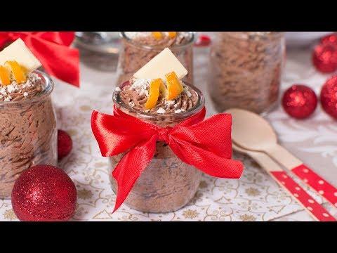 Mousse de Chocolate y Naranja - Con Solo 4 INGREDIENTES