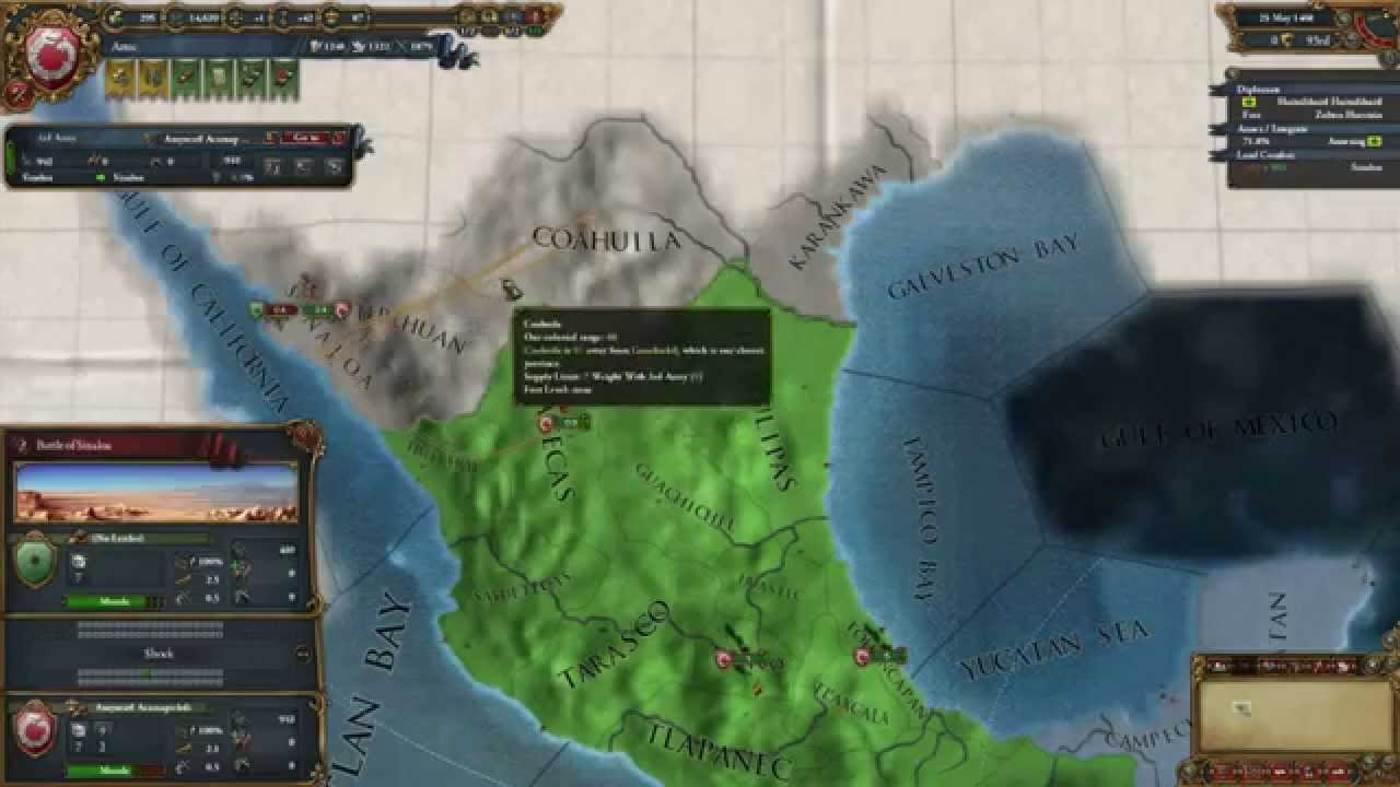 Europa Universalis IV: Sunset Invasion with Cursed Aztec Gold 01