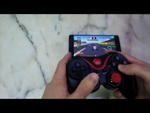 T3 Wireless Bluetooth 3.0 Gamepad Gaming Controller For Android System PCTV Box - Www.gearbest.com