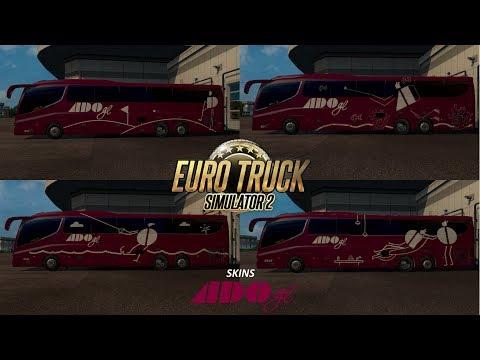 |-gameplay-|-skins-ado-gl-para-el-irizar-i8-/-euro-truck-simulator-2