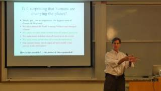 Climate Change, Sustainability, and Arctic and Alpine Research (Dr. James White - 10/13/15)