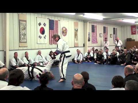 Master Charles Hildebrand 8th dan demonstration: 39th Hapkido & KMA clinics USKMAF