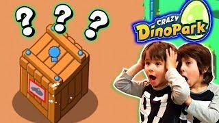 DANI y EVAN hacen DINOSAURIOS nuevos y combates en CRAZY DINOPARK - juegos android para niños