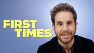 Ben Platt Tells Us About His First Times Video