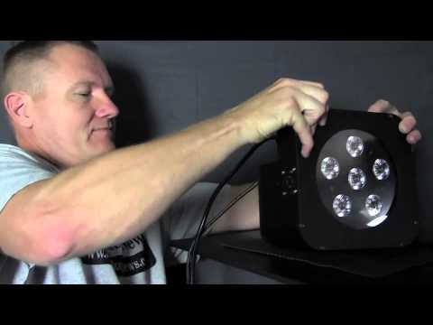 Blizzard Lighting Puck Fab 5 with Skywire: By John Young of the Disc Jockey News