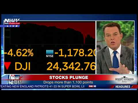 BREAKING: Stocks Plunge Near Record Levels