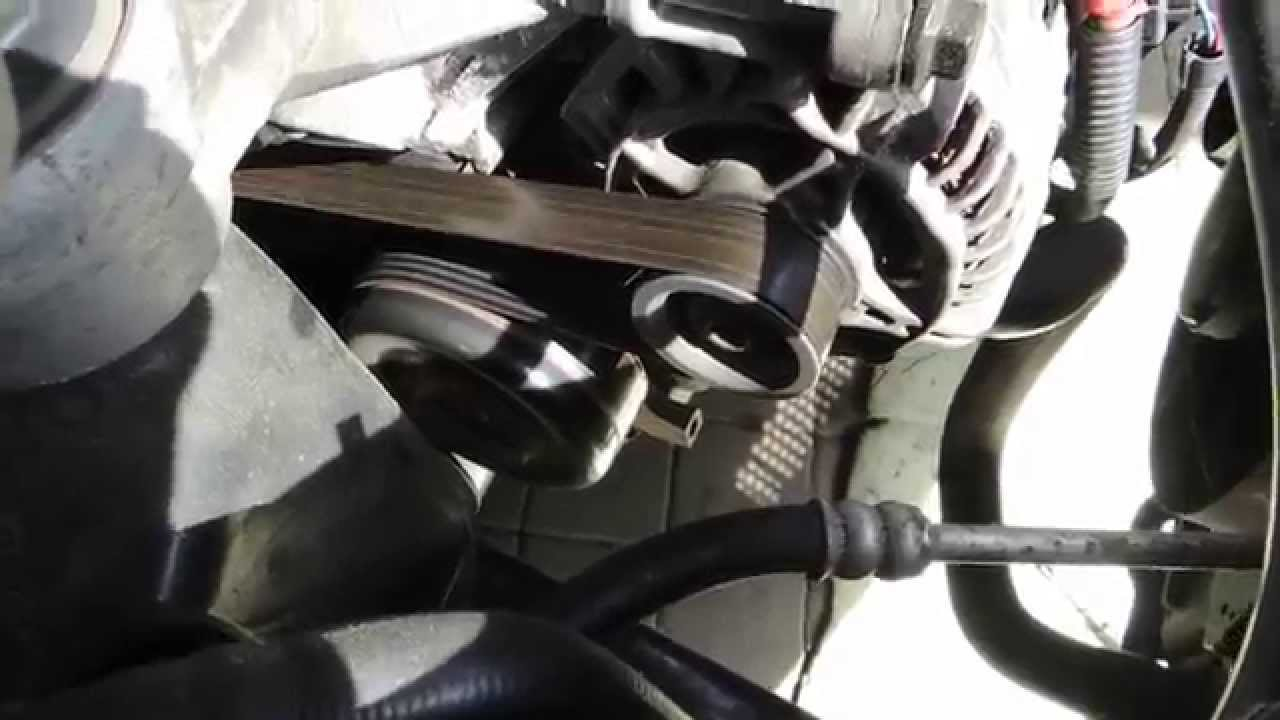 2006 Ford Focus Serpentine Belt Diagram Not Lossing Wiring Fusion 2 4l Engine Replacement V Ribbed Grooved Stop Squeal 2008 06