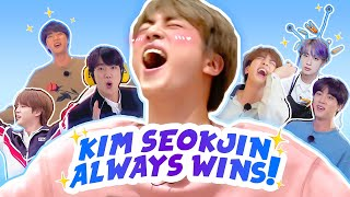 kim seokjin, the KING of run bts