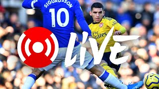Everton 0-0 Arsenal | Premier League | Arsenal Nation Live