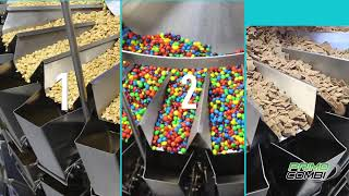 Snack Food Weighing and Mixing packaging machine - PrimoCombi 24 head multihead weigher