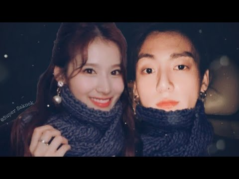 Jungkook & Sana Moments | 정국 x 사나 💜
