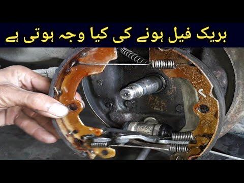 How to Replace a Wheel Cylinder Suzuki Mehran car Urdu in Hind