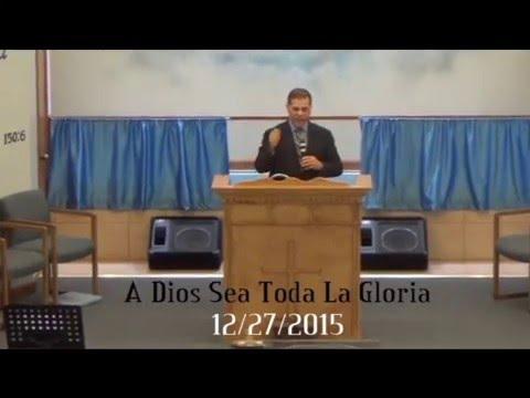 Pastor Hector Velasquez 12/27/2015
