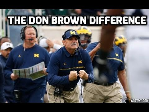 "The Michigan Defense: ""Don Brown Difference"""