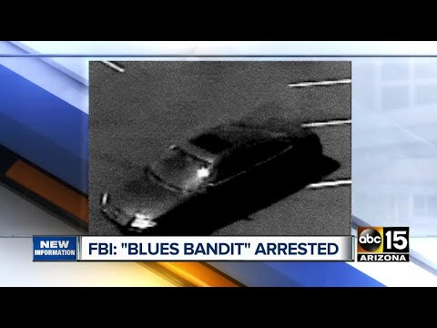Blues Bandit arrested for multiple robberies across Valley