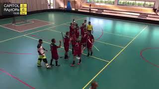 1. liga mužov 2. kolo TEMPISH CAPITOL Floorball Club - FBK RAptORs, SZFB