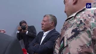 الملك يزور شركة جدارا للأنظمة الدفاعية