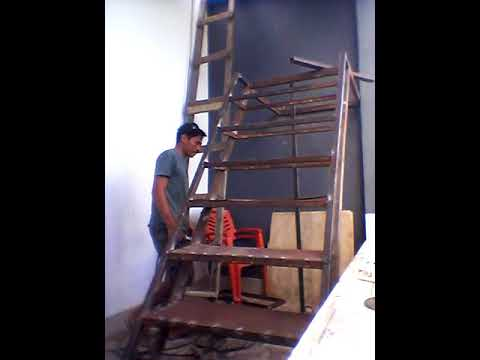 Harga Dan Model Tangga Baja Kayu Murah Minimalis Terbaru Dengan