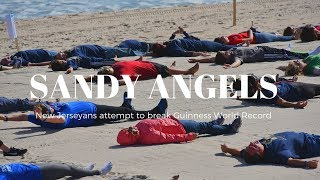 NJ's 'Sandy Angels' attempt to break Guinness World Record