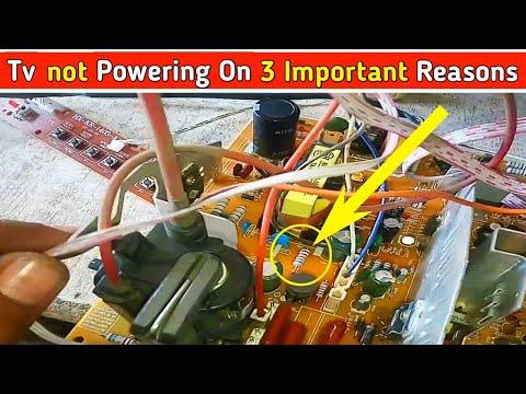 Tv Not Powering On 3 Important Reasons Related To Tv Repair Like Sony Tv Lg Tv Repair Etc .
