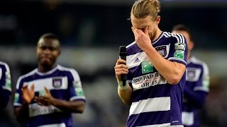 rsc anderlecht 2 1 kvc westerlo a night full of emotions
