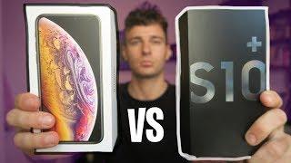 Samsung Galaxy S1O vs iPhone XS! Combate Definitivo ¿CUAL COMPRAR? thumbnail