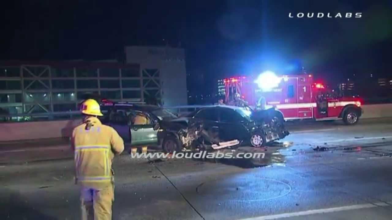 5 Freeway Fatal Crash / Boyle Heights RAW FOOTAGE