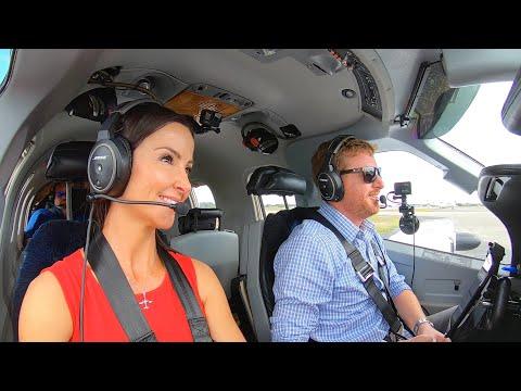 AIRCRAFT CARRIER LANDING COMPETITION! - S1K Meet Up TBM850 Flight VLOG
