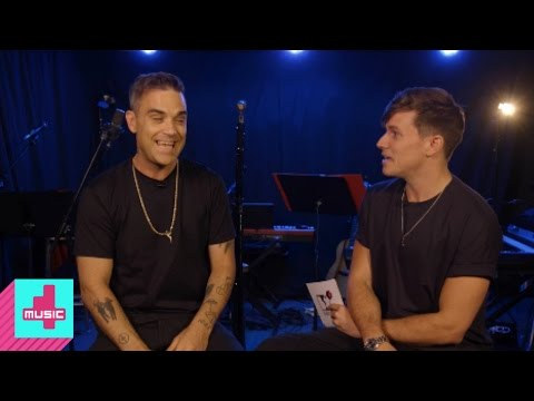 Robbie Williams on Partying with Russians and X Factor | 4Music Hangout