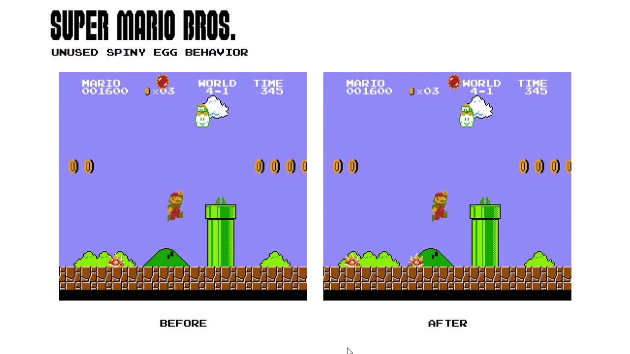 Super Mario Bros  - The Cutting Room Floor