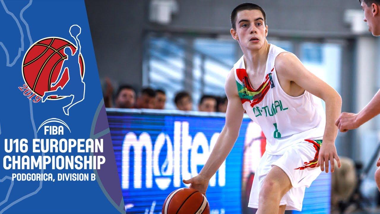 Portugal v Ireland - Full Game - FIBA U16 European Championship Division B 2019